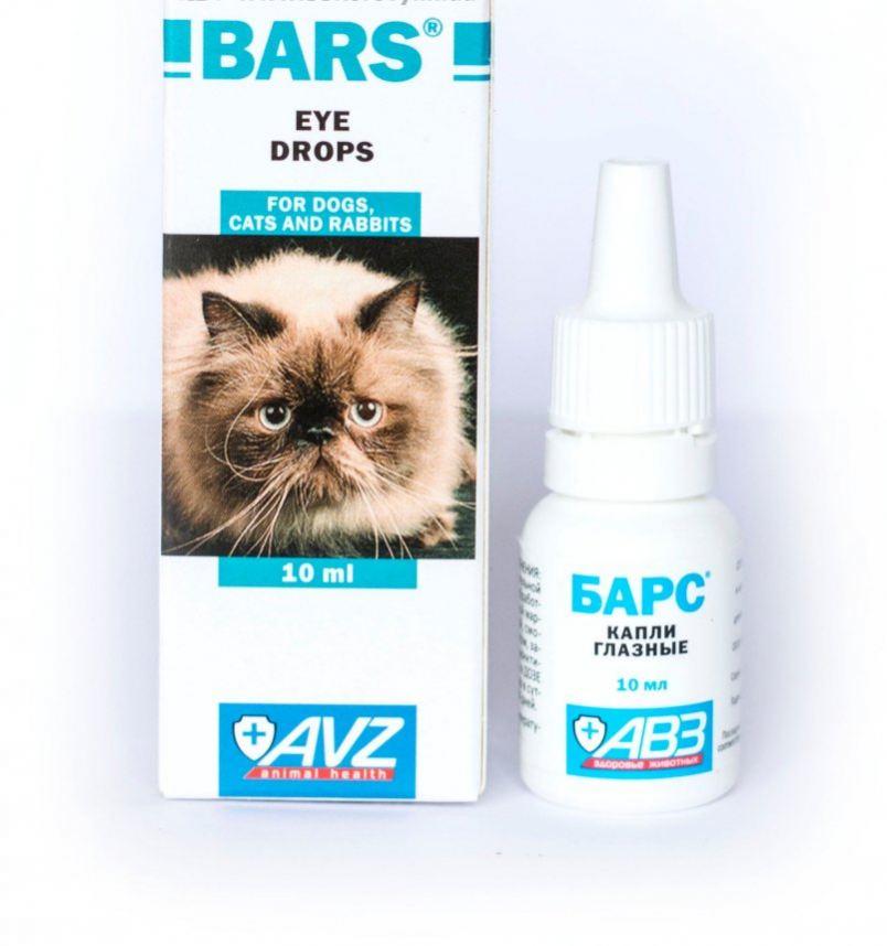 Офтальмологический препарат Барс можно сочетать с другими лекарствами